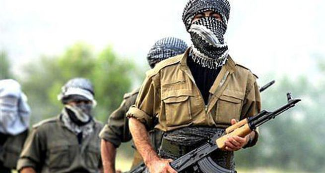 Komando taburuna sızmaya çalışan terörist yakalandı