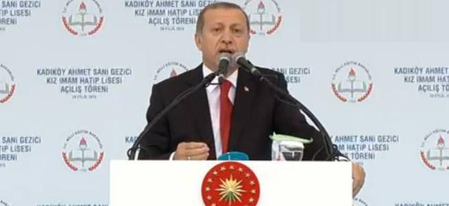 Cumhurbaşkanı Erdoğan: Men sabera zafera!