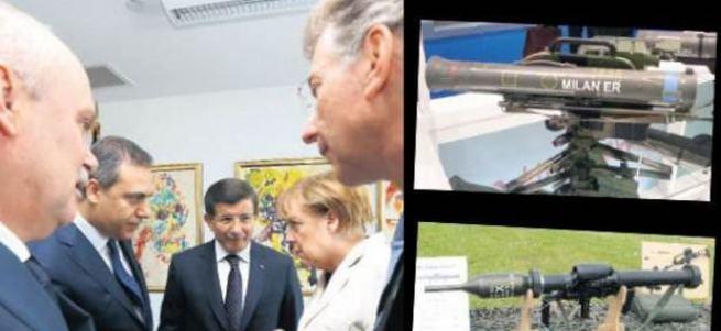 Davutoğlu'ndan Merkel'e 'Milan' sorusu!