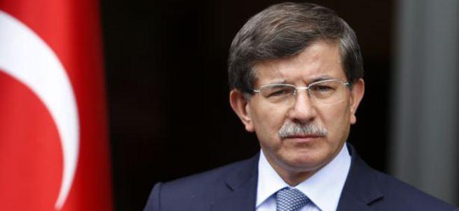 Başbakan Davutoğlu ABD'de Esad'a yüklendi