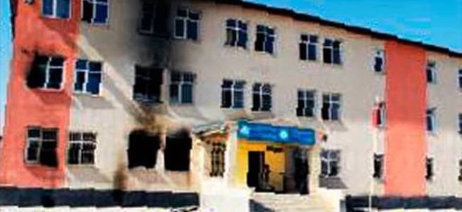 Okula saldırdılar