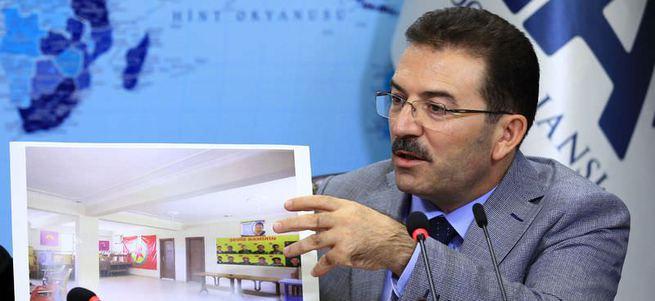 PKK'nın Cemevi adıyla cephanelik yaptığı bina bombalandı