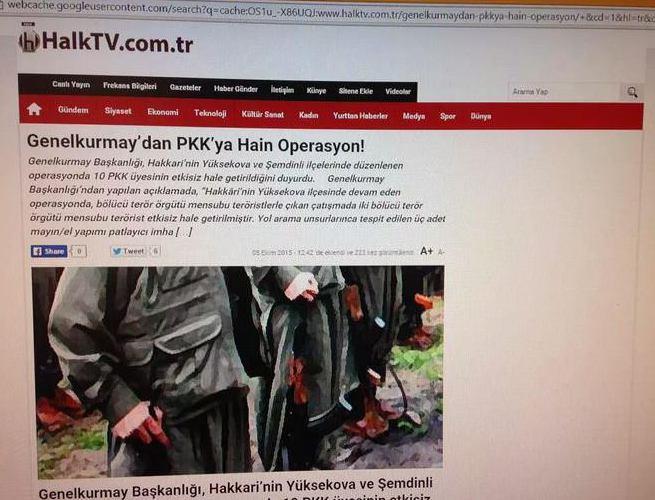 Halk TV TSK'ya hain dedi