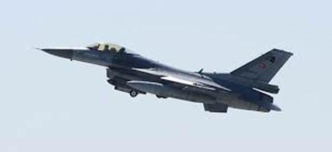 Suriye'den Türk F-16 uçağına taciz!