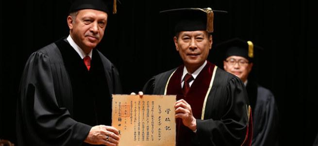 Kafaya bak: Japonya'ya 'Erdoğan'a ödül vermeyin' mektubu