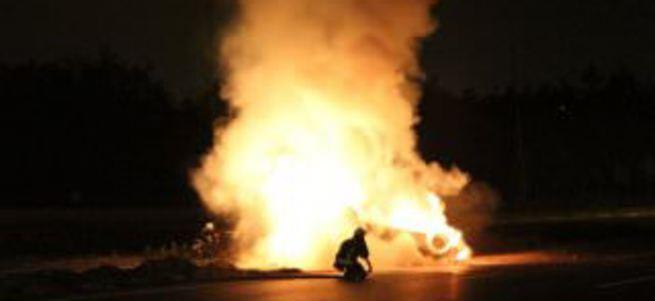 Bursa'da yanan otomobilden çıkan Kuran-ı Kerim şaşırttı