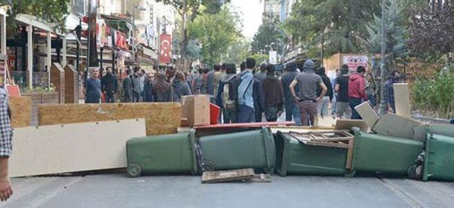 Ankara'daki terör saldırısının ardından büyük provokasyon
