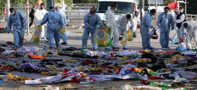 Canlı bombalardan biri tespit edildi: 25-30 yaşlarında erkek