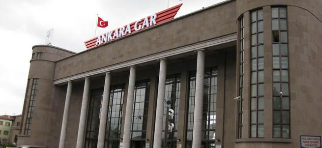 Ankara Tren Garı alanında şüpheli paket alarmı