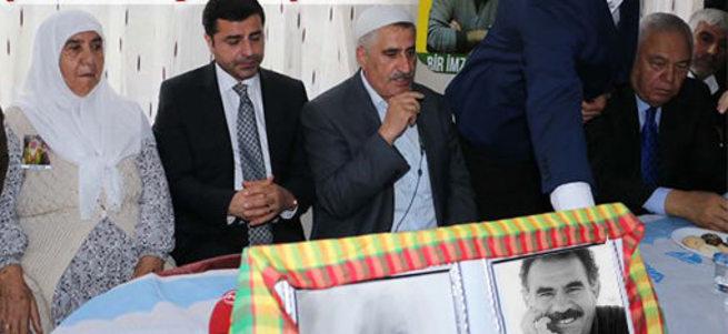 Hürriyet Demirtaş haberinde Öcalan fotoğraflarını gizledi