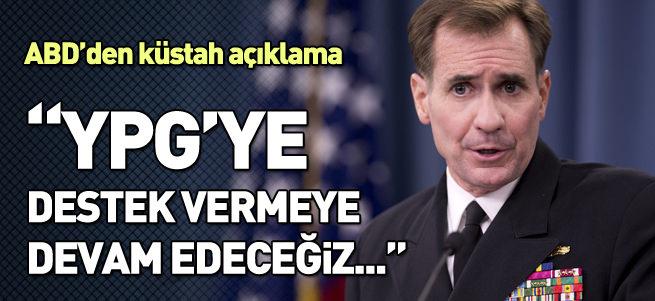 ABD YPG'ye destek vermeye devam edeceğini duyurdu