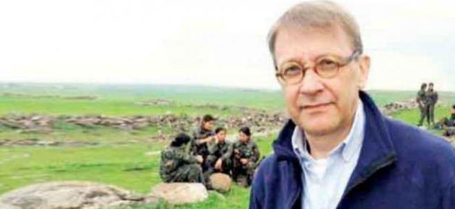 Erdoğan düşmanı gazetecinin PKK hayranlığı!