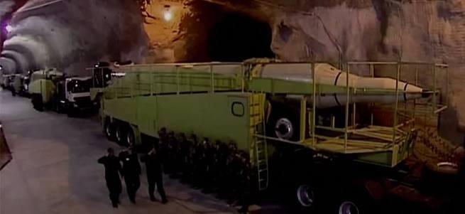 İran'ın yer altındaki füze tesisi ilk kez görüntülendi