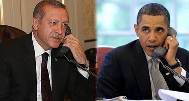 Cumhurbaşkanı Erdoğan, Obama ile görüştü