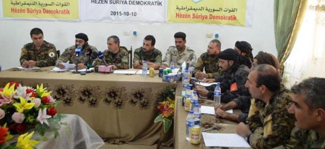 Demokratik Suriye Güçleri resmen kuruldu