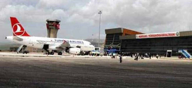 PKK'lılar havalimanına saldırdı