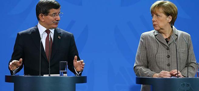 Davutoğlu-Merkel basın toplantısı - CANLI