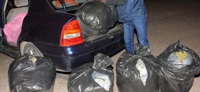 Avukatın aracından 150 kilogram esrar çıktı!