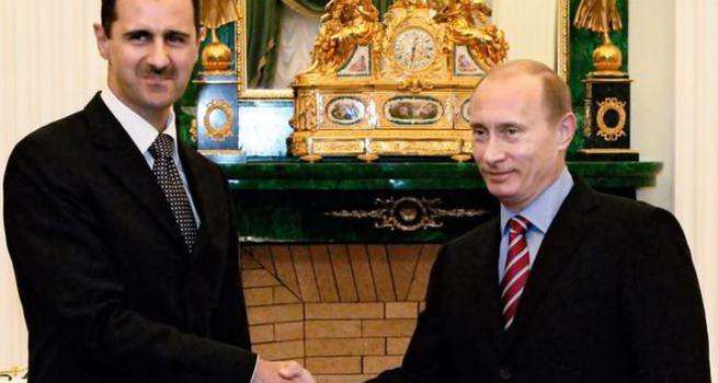 Rusya'da Putin Esad zirvesi