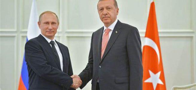 Erdoğan Putin ile görüştü!