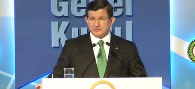 Davutoğlu HAK-İŞ Genel Kurulu'nda konuşuyor