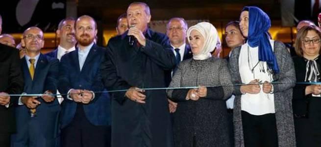 Cumhurbaşkanı Erdoğan: İşte oğlum burada