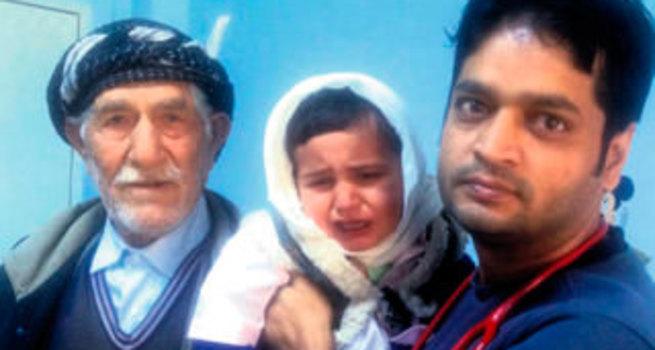 Nepalli kahramanı Pervari'den terör ayırdı