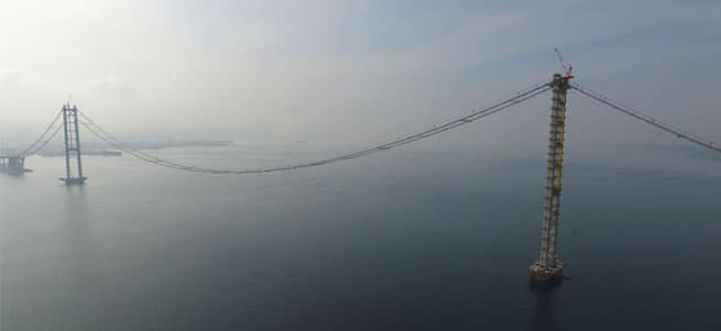 Körfez Köprüsü'nün bitmesine 5 ay kaldı