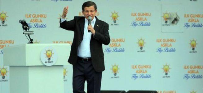 Başbakan Davutoğlu Diyarbakır'da konuştu