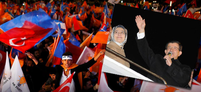 Başbakan Davutoğlu Ankara'da