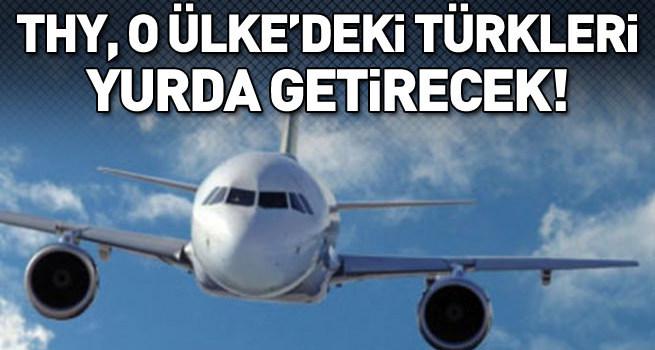 THY, Mısır'daki Türkleri yurda getirecek