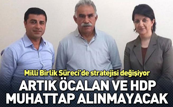 Öcalan ve HDP muhatap alınmayacak