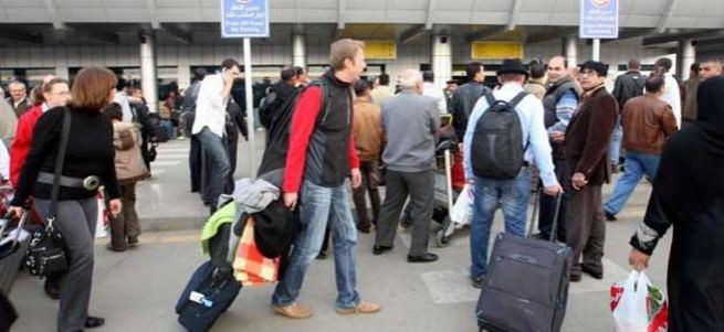 Mısır havalimanlarında skandal