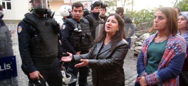 HDP'li vekiller Silvan'a giremedi