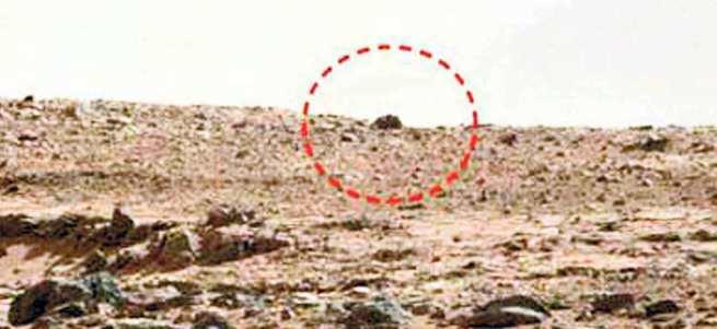 Mars yüzeyinde 3 metrelik fare!