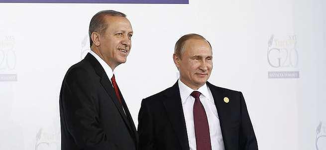 Erdoğan ve Putin G20'de bir araya geldi