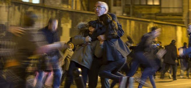 Paris'teki anmada panik
