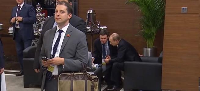 G20'deki esrarengiz adam bakın kim çıktı!