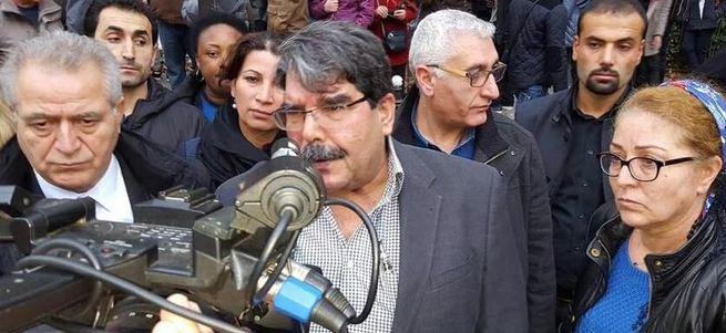 Salih Müslim Paris'te terör anmasında görüntülendi
