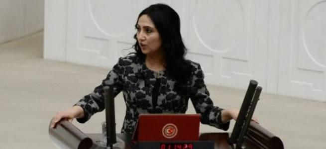 Figen Yüksekdağ'dan Leyla Zana'ya destek