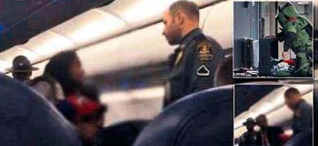 Müslümanları uçaktan attılar