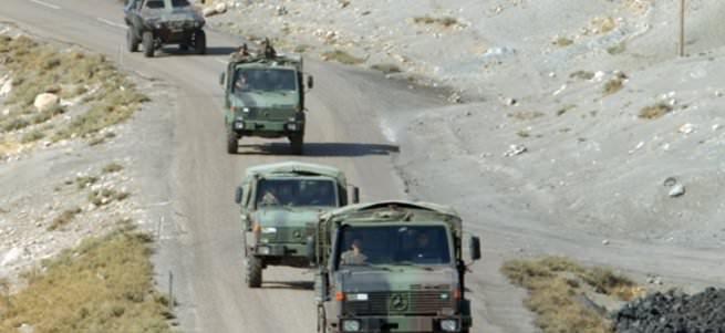 Varto'da askeri araca bombalı tuzak