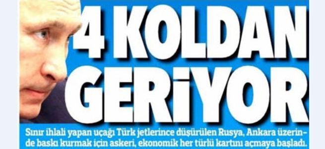Kremlin: Türkiye'ye yaptırım uygulamayı düşünmüyoruz
