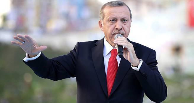 Erdoğan Bayburt'ta konuştu