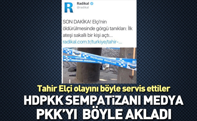 Radikal'in çabası yine PKK'yı aklamak