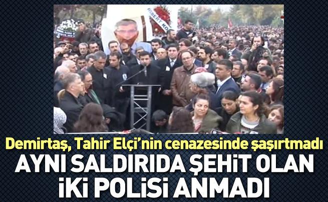 Demirtaş, Tahir Elçi'nin cenazesinde konuştu