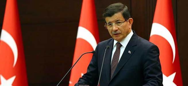 Davutoğlu: Demirtaş, Tahir Elçi'yi öldürenlere fırsat verdi
