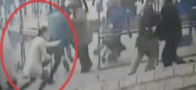 Polise saldıran kadın terörist öldürüldü