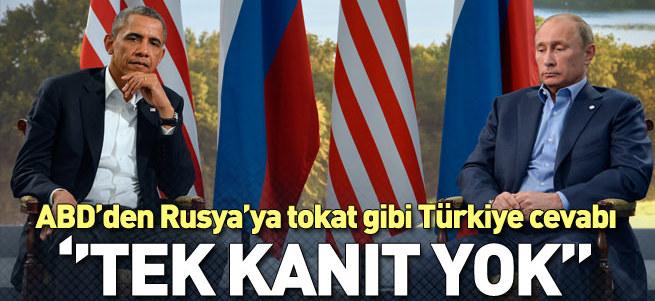 ABD'den Rusya'ya Türkiye cevabı
