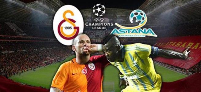 G.Saray-Astana maçı saat kaçta hangi kanalda?